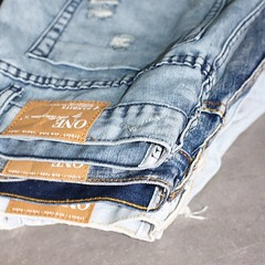 One teaspoon denim stack