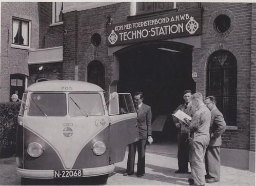 N-22068 Volkswagen Transporter bestelwagen 1950