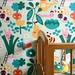 In the garden wallpaper