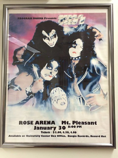 01/30/76 Kiss/ Hot Lucy @ Rose Arena, Mt. Pleasant, MI  (Scott Harding Collection)
