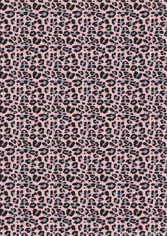 wrap animalier free printable maculato base rosa