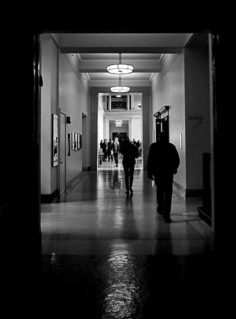 MIT corridors