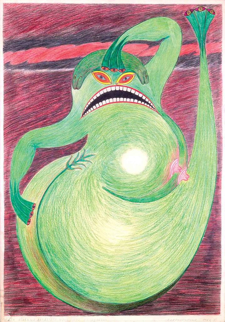 FRIEDRICH SCHRÖDER-SONNENSTERN - The Moon Spirit Frog