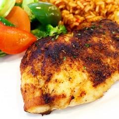 crab cake(0.0), cutlet(0.0), pork chop(0.0), frikadeller(0.0), schnitzel(0.0), tandoori chicken(0.0), produce(0.0), meat chop(0.0), meal(1.0), chicken meat(1.0), fried food(1.0), fish(1.0), meat(1.0), food(1.0), dish(1.0), cuisine(1.0),