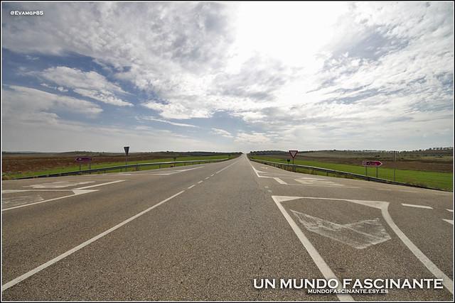 Carretera CM de acceso