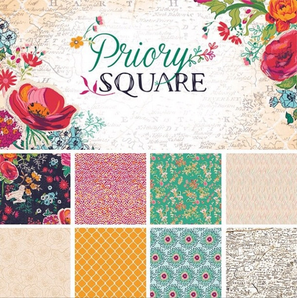 Priory Square for Friday's Fabric Giveaway!!
