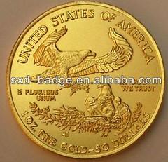Fake gold eagle reverse