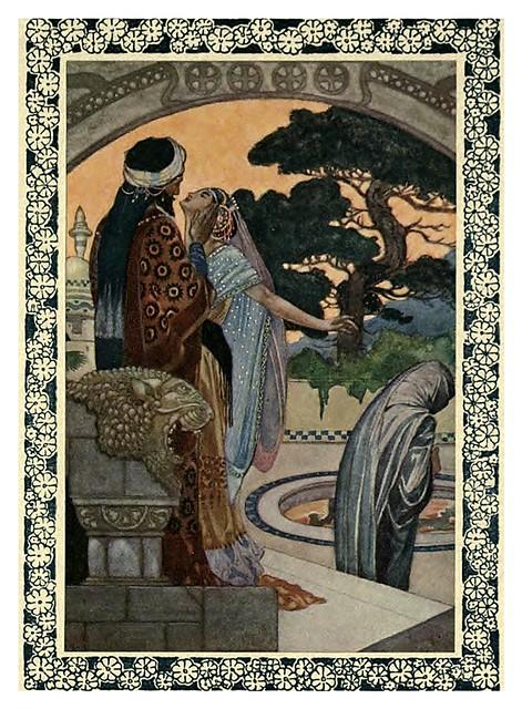 009-Rubáiyát of Omar Khayyám-1913- Ilustrado por René Bull