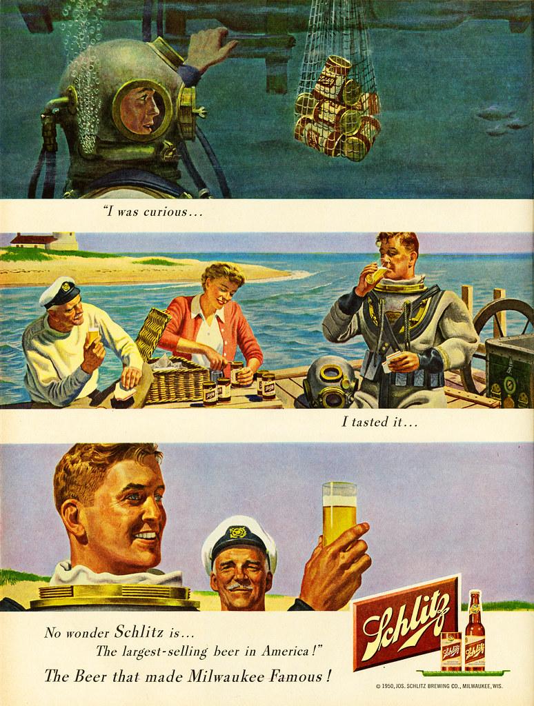 Schlitz-1950-diving