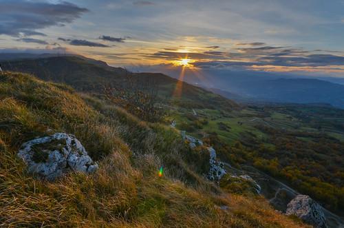sunset italy panorama landscape italia tramonto montagna montefeltro serrasanmarco