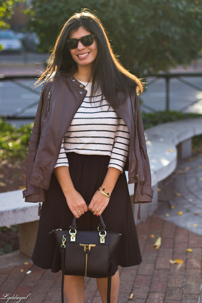 leather jacket, black skirt, striped shirt-7.jpg