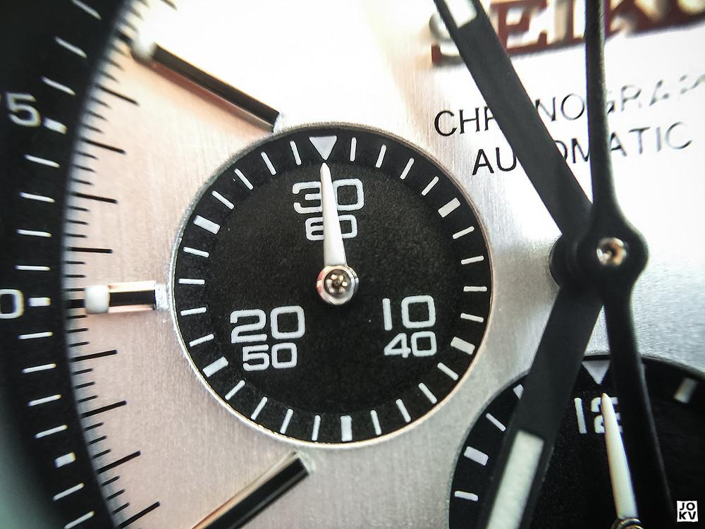 [Revue] Seiko Automatic Chronograph SDGZ013 - Panda 18304479543_e52e98337f_b