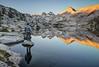 Mount Hooper Reflected in Rose Lake (morning)