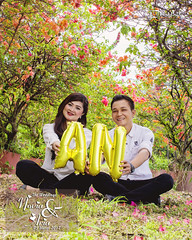 Stand Foto 40x50 Novia & Aria