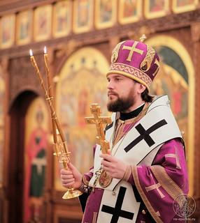 Литургия в Спасском соборе 430