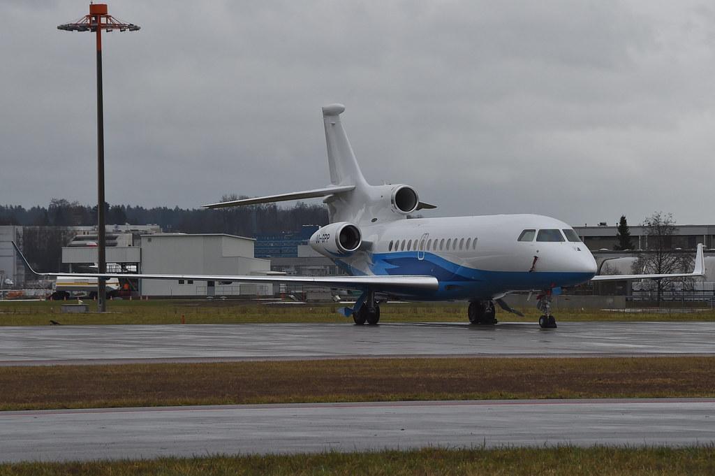 OO-GPP - FA7X - Abelag Aviation
