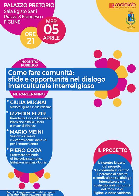 Come fare comunità: sfide e opportunità nel dialogo interculturale e interreligioso