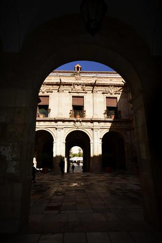 Murcia Palacio Episcopal Courtyard