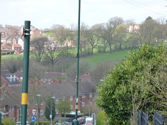 Ley Hill Park from Vineyard Road, Northfield