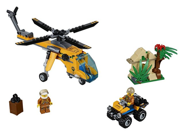 60158 Jungle Cargo Helicopter 2