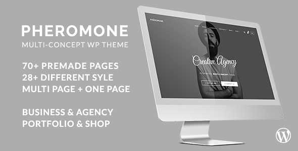 Pheromone WordPress Theme free download