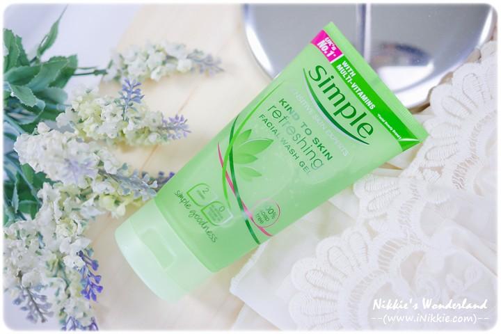 Simple清溫和保濕潔顏乳