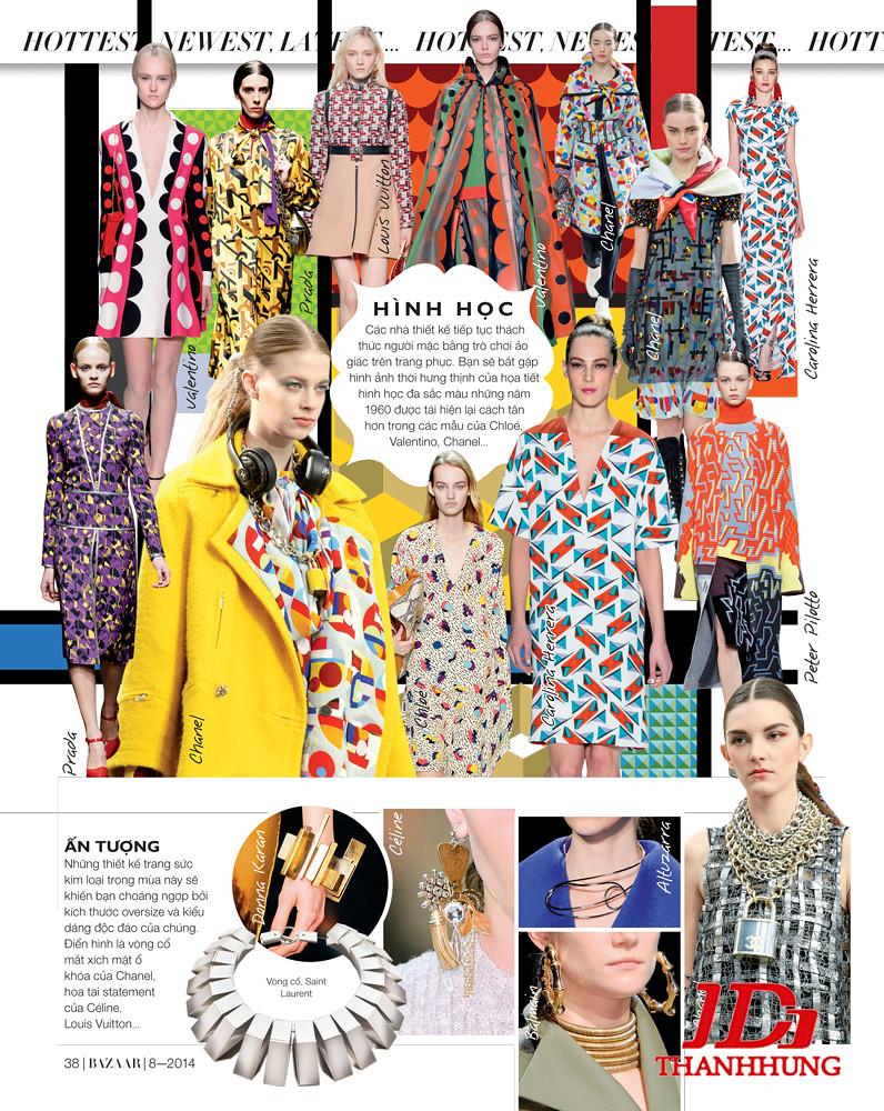 Xu hướng thời trang Thu Đông 2014/2015 cực HOT 3