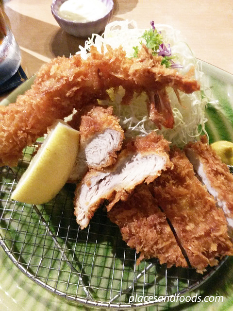 tonkatsu by ma maison one utama mixed platter