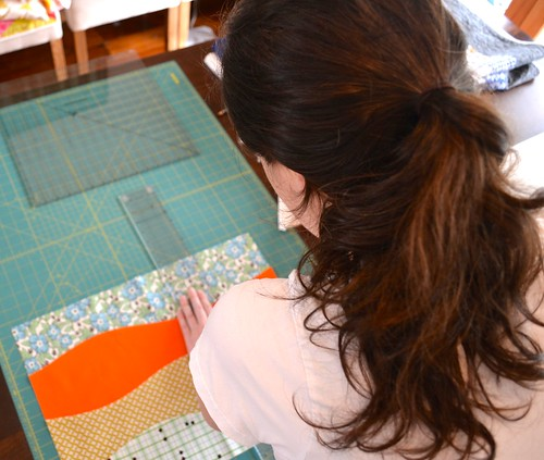 Hadley quilt in progress