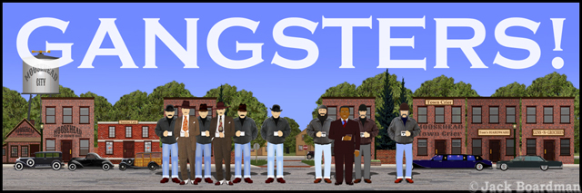 Gangsters Banner