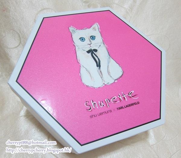 shu uemura x Karl Lagerfeld 2014 聖誕限量版Shupette彩妝系列