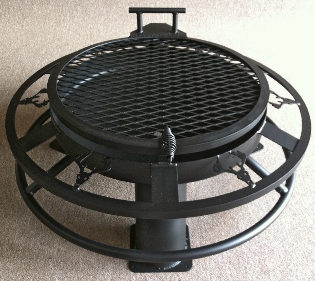 "30"" BIG RACK WITH REGULAR GRILL AND 1"" SOLE SAVER WITH A TANKHEAD"