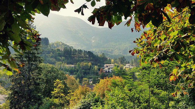 Fall foliage in Annot