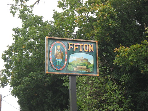 Offton, village sign