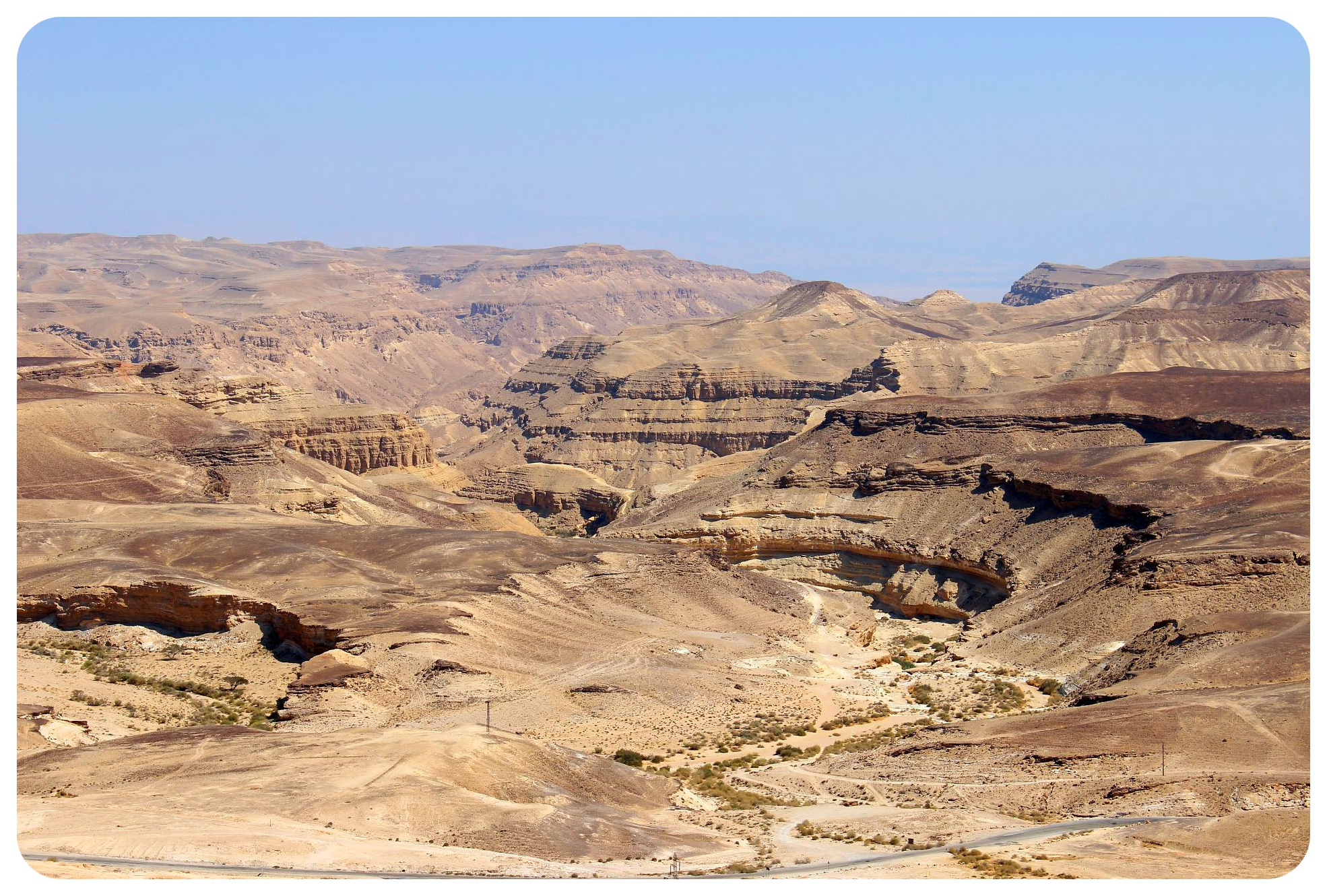 big crater israel national trail