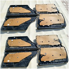 #For#Sale#Used#Parts#Mercedes#Benz#OEM#W126#SClass#alyehliparts#alyehli#UAE#AbuDhabi#AlFalah#City  FOR SALE MERCEDES BENZ OEM USED PARTS :  W126 560SEL INTERIOR - FOUR PIECES AMG BLACK AND WOOD DOOR PANELS  - VERY CLEAN   NOTICE : THOSE DOORS PANELS WAS O