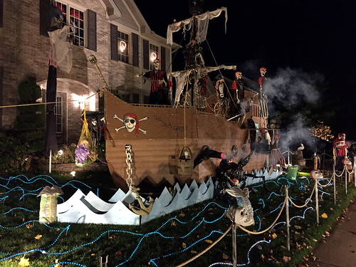 Pirate Themed Halloween House