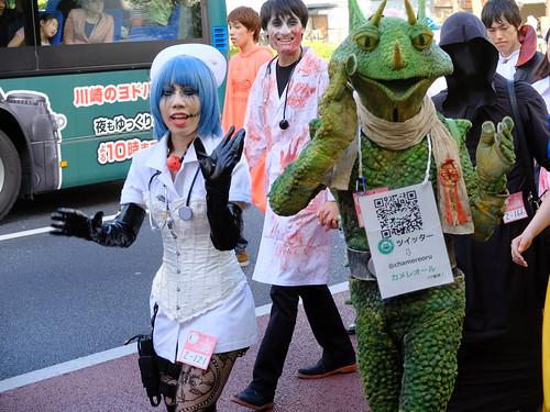 Kawasaki Halloween parade 2014 150