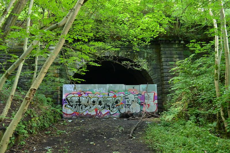 Botanic Gardens tunnel portal