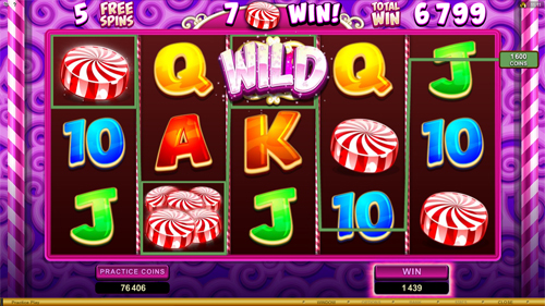 So Much Candy Free Spins Split Feature