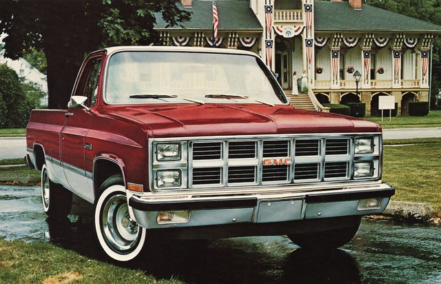 1981 Gmc Sierra Classic Wideside Pickup