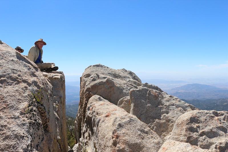 Me on the Marion Mountain summit block