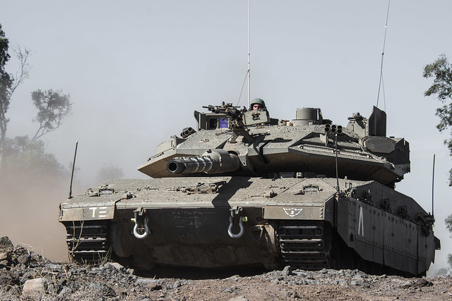 The Merkava IV Tank in the 7th Armored Brigade