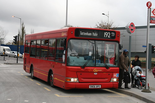 London General PDL137 on Route 192, Tottenham Hale Bus Station