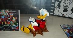 Uncle Scrooge in vetrina - Little Nemo Torino