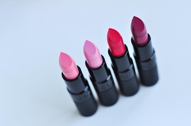 stylelab beauty blog review Gosh Velvet Touch lipsticks fall winter 2014 a