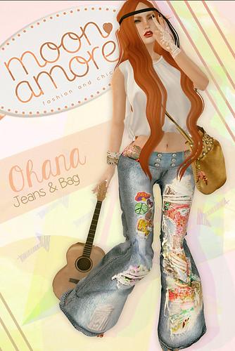 Moon Amore - Ohana Jeans & Bag