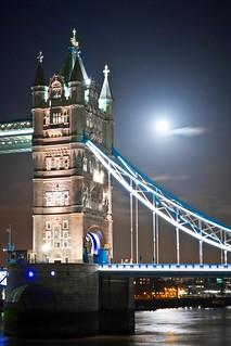 Glowing Tower Bridge