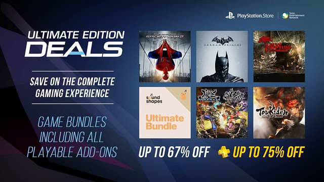 PlayStation Store Ultimate Edition Deals