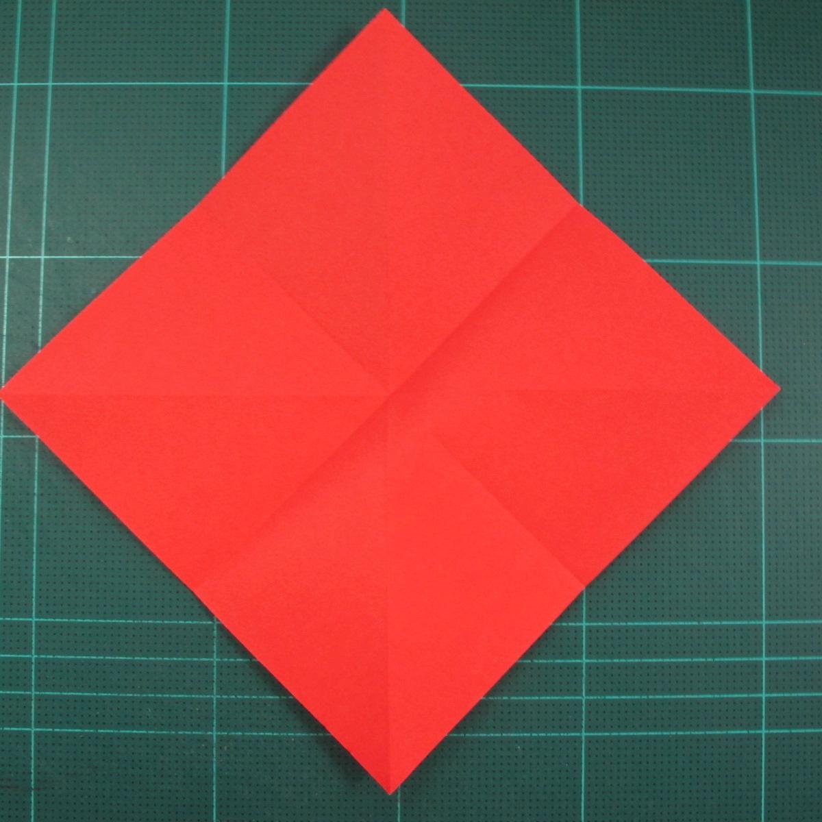 วิธีพับกระดาษเป็นรูปแมลงปอ (Origami Dragonfly) 004